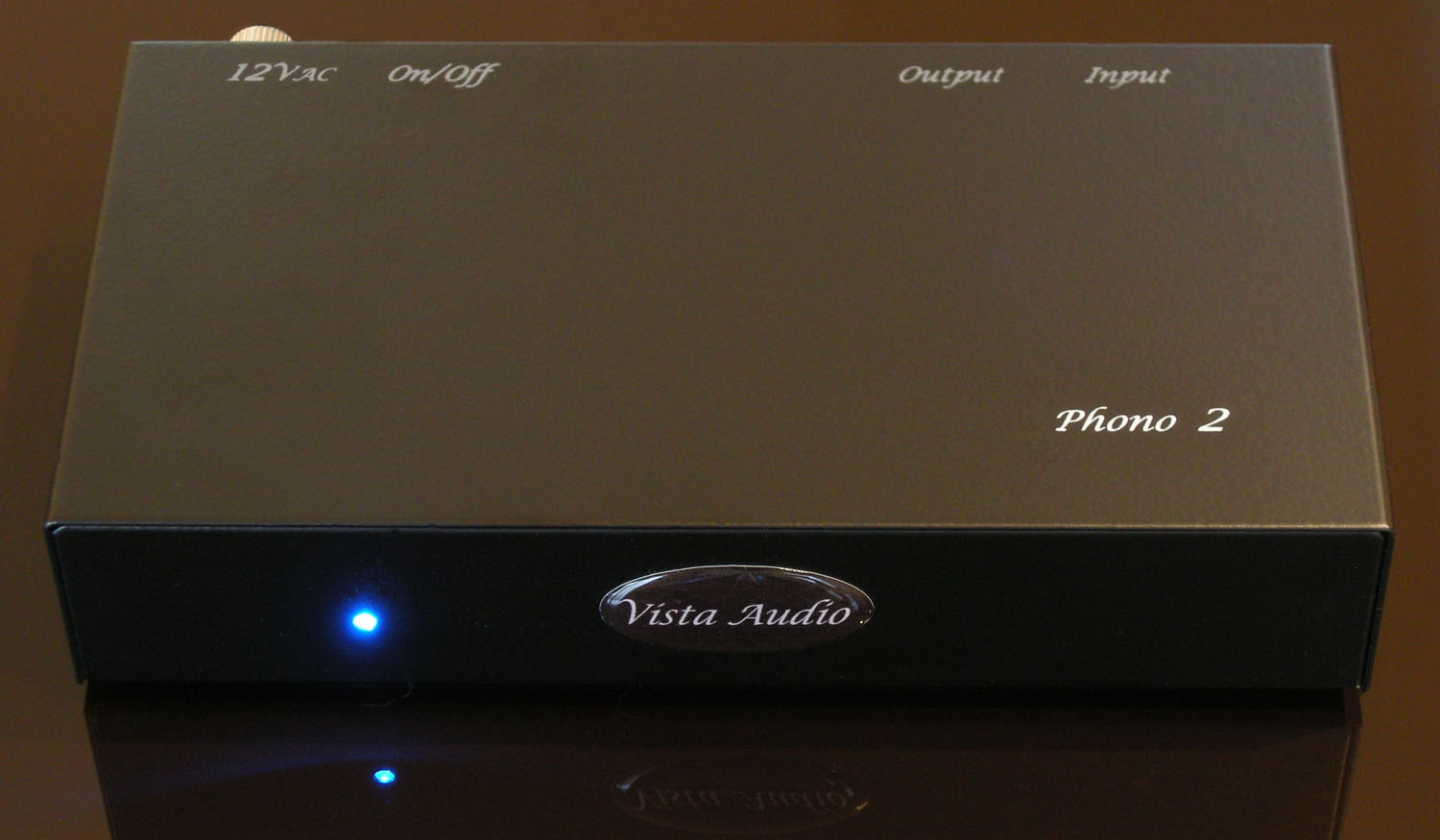 Vista Audio One Step Ahead Phono Preamp Circuit 2 Front The Robust Steel Chassis Houses Preamplifier Circuits